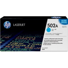 HP 502A Q6471A COLOR LASERJET CYAN