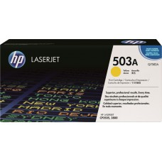 HP 503A YELLOW TONER ORIGINAL (Q7582A)